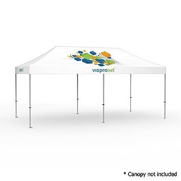 Amazon.com : 10\' x 20\' Commercial-Grade Aluminum Tent Frame - Silver ...