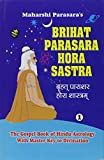 img - for Brihat Parasara Hora Sastra of Maharshi Parasara (2 Volume Set): The Gospel Book of Hindu Astrology With Master Key to Divination book / textbook / text book