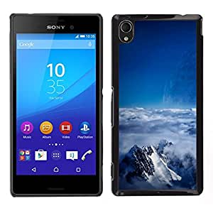 Stuss Case / Funda Carcasa protectora - Snowy Misted Mountains - Sony Xperia M4 Aqua