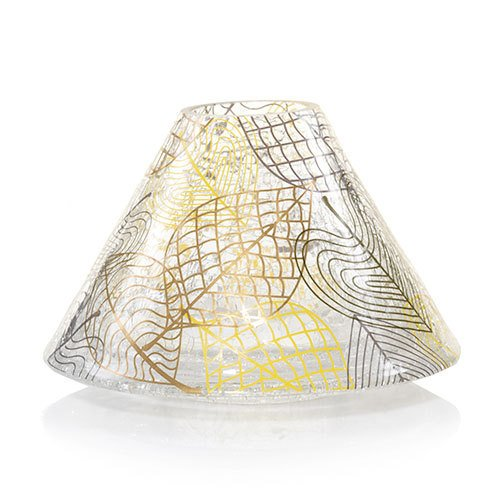 Linear Leaves (Yankee Candle Falling Leaves Jar Candle Shade)