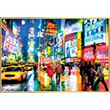 New York Poster and Frame (Plastic) - Times Square (36 x 24 inches)