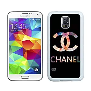Chanel DIY Design Beautiful Fashion Hard Shell Samsung Galaxy S5 Cover Case 38 White