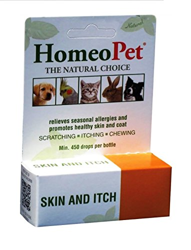HomeoPet Feline Skin & Itch for Cats (15 ml) by HomeoPet