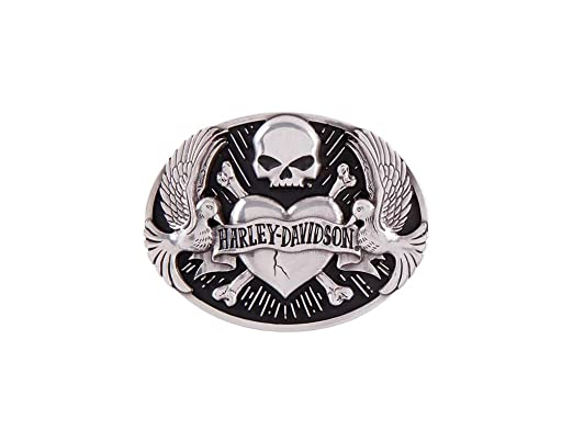9bc24dac1f4e2a Harley-Davidson Gürtelschnalle Tattoo: Amazon.de: Bekleidung