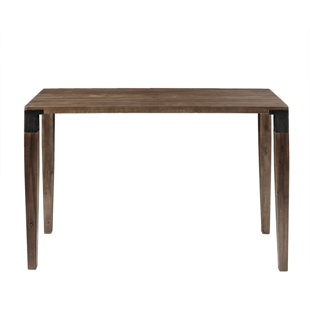 Ink+Ivy Frazier Accent Tables - Wood Side Table - Brown, Mid-Century Modern Style End Tables - 1 Piece Wire Brushed Finish Small Tables For Living Room by Ink+Ivy