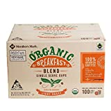 Member's Mark Organic Breakfast Blend Coffee 100 Single-Serve Cups, 35.27 Ounce