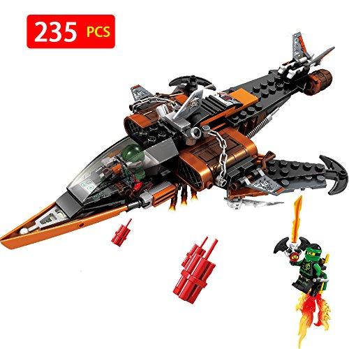 Ninjagoed Jet Aotumated Aircraft Model Compatible with LegoINGLYS Anime action figures Building Blocks Bricks Toys for (Trek Bike Catalog)