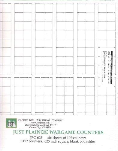 [해외]PRP: 카운터 시트 빈 58 \\ / PRP: Counter Sheets Blank 58 White 6-sheets