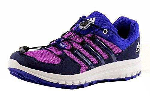 Adidas Outdoor Women's Duramo Purple Sneakers (10, Flash Pink / Night Sky / Night Flash)