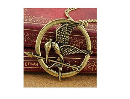 Hunger Games Inspired Mocking Jay Pendant Necklace