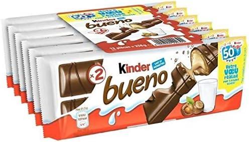 Kinder Bueno - Pack de gotas de chocolate finas (258 g): Amazon.es ...