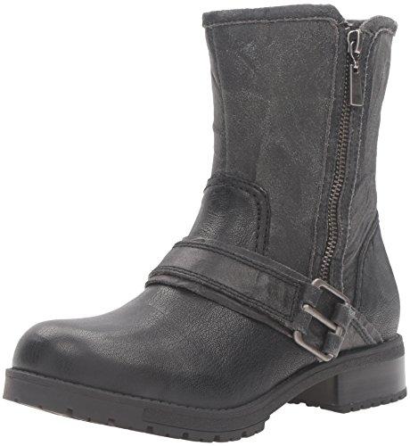 Clarks Women's Faralyn Rise Boot, Green Black Nubuck