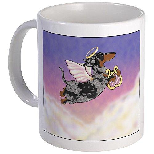 CafePress - Silver Dapple Dachshund Angel Mug - Unique Coffee Mug, Coffee Cup -