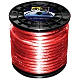 DB Link PW8R250Z 8-Gauge 250 Feet Power Wire (Red)
