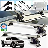 f150 roof rack - Car Top Luggage Cross Bar Roof Rack Carrier Skidproof For Ford F-150 F-350 F-450