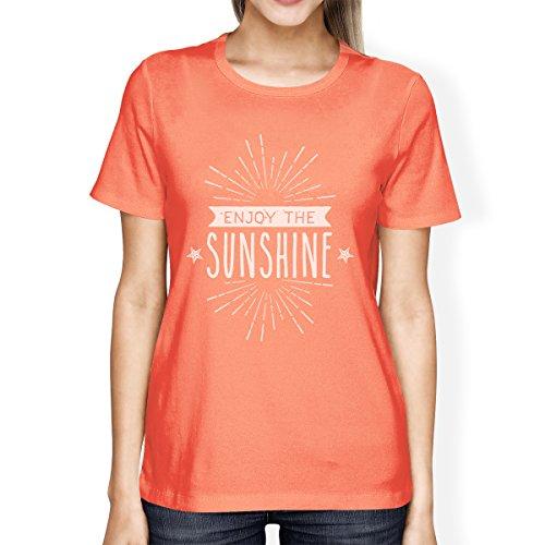 Courtes Unique Pull Femme Printing Sunshine Manche Taille Sans Enjoy The 365 Manches ZX6q6