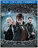 Fantastic Beasts: The Crimes of Grindelwald (Blu-ray + DVD + Digital Combo Pack) (BD)