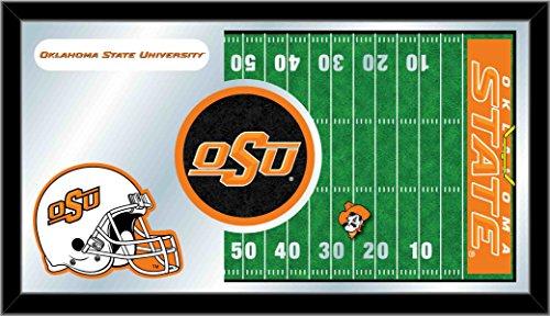 Holland Bar Stool Co. NCAA Oklahoma State Cowboys 15 x 26-Inch Football Mirror