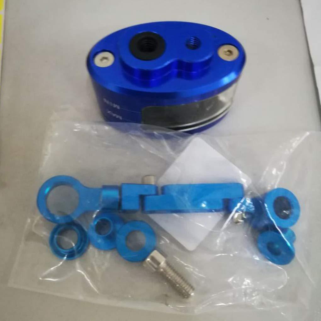 Zerama Aceite de Copa CNC Freno de Embrague Cilindro Maestro Dep/ósito de l/íquido del Tanque de Aluminio Taza de Aceite para la Motocicleta