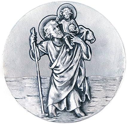 Llavero. Peluche de San Crist/óbal con Llavero y Medalla Fritz Cox