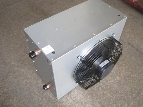 50 000 Btu Hydronic Hot Water Hanging Unit Heater Single