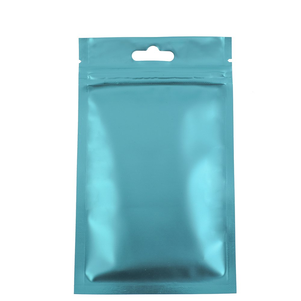Amazon.com: 100 Clear Front Blue Back Bags Butterfly Hang Holes 10x18cm  (3.9x7