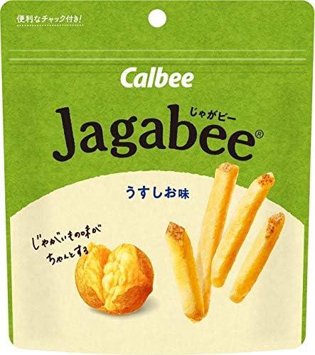 【販路限定品】カルビー じゃがビー うすしお味 パウチ 40g×12袋