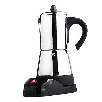 Edelstahl Baoblaze Espressokocher Mit Espressomaschine Stecker Elektrische Tasse Espressokanne 6 Eu OwkPn0