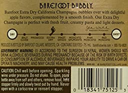 Barefoot Bubbly California Extra Dry Sparkling Wine 750mL