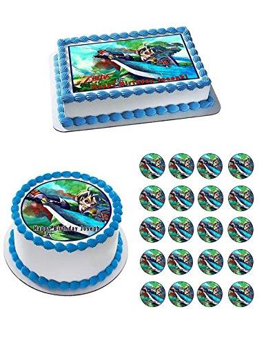 Amazon The Legend Of Zelda 1 Edible Cupcake Toppers