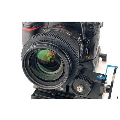 Cool-Lux LuxGear LG8485 Follow Focus Gear Ring for 84 to 85.9mm Lens