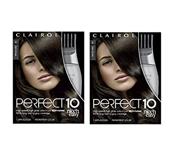 Amazon clairol perfect 10 by nice n easy hair color 004 dark clairol perfect 10 by nice n easy hair color 004 dark brown 1 kit solutioingenieria Images