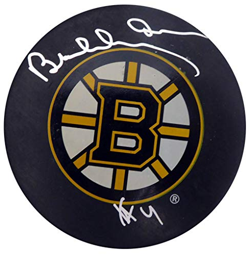 - Bobby Orr Autographed Boston Bruins Hockey Puck Beckett BAS #F98263
