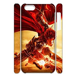 XOXOX Customized Cell phone Cases of Monkey King, Hero is Back Phone 3D Case For Iphone 5C [Pattern-6]
