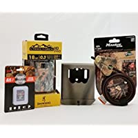 Browning Strike Force PRO Trail Camera | Bear Box | Python Cable | 16GB SD Card