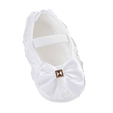 Minuya Baby Mädchen Lauflernschuhe, Weiß - weiß - Größe: L: Amazon ...
