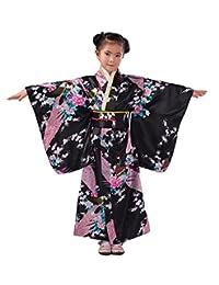 Ez-sofei Girls/Womens Japanese Traditional Floral Kimonos