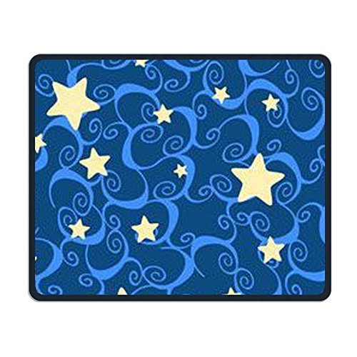 Center Pad Stars Wallpaper Halloween Nice Personality Design Mobile Gaming Mouse Pad -