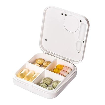 Píldora de medicina portátil Organizador Recipiente para ...