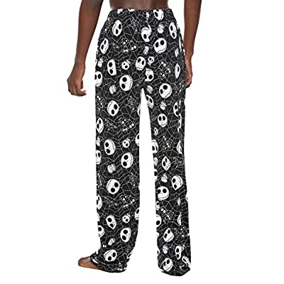 Tvmoviegifts The Nightmare Before Christmas Spiderwebs & Skulls Pajama Pants at  Men's Clothing store