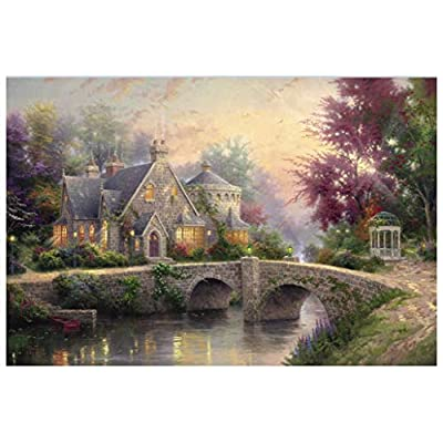 Classic Jigsaw Puzzles 2000 Pieces Adults Puzzles,Wooden Puzzles, Suitable for Adults, Children Over 12 Years Old (Color : G): Toys & Games