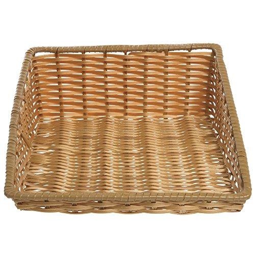 - Tapered Storage Basket, Natural Color, Rectangular - 15 1/2 L x 20
