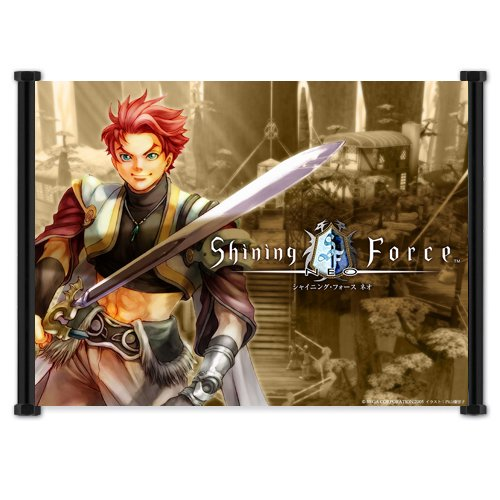 Shining Force Neo Game Fabric Wall Scroll Poster (21x16) Inches