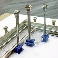 Lead And Glass Stop Blocks by Aanraku Studios