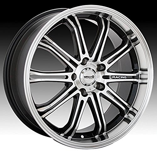 Maxxim Ferris 15×6.5 Machined Black Wheel / Rim 4×100 & 4×4.5 with a 38mm Offset and a 73.00 Hub Bore. Partnumber 41MB-4S56D04385