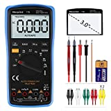 Digital Multimeter, Morpilot Auto-Ranging 6000 Counts DC/AC Voltage & Current, Resistance, Frequency, Continuity