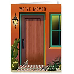 We've Moved New Address Note Card - 18 Boxed Cards & Envelopes