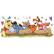RoomMates Winnie the Pooh - Outdoor Fun Peel and Stick Giant Wall Decals
