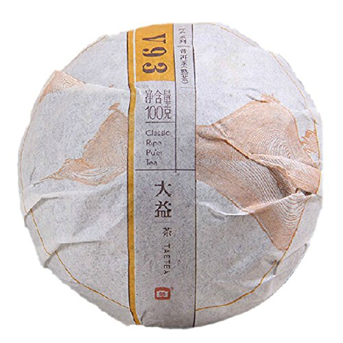 33Cups - Aged Ripened Puerh Tea Cake 100% Natural Puerh Tea - Shou Pu erh Black Tea(Shu Tuo Cha) - Weight Loss Puerh Tea-Detox Tea, Slimming Tea-ANTI-OXIDANTS RICH- 100g/3.5oz
