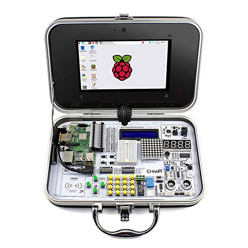 - ELECROW CrowPi Raspberry Pi Kit for Learning Computer Science, Programming, Electronics(Advanced Kit)